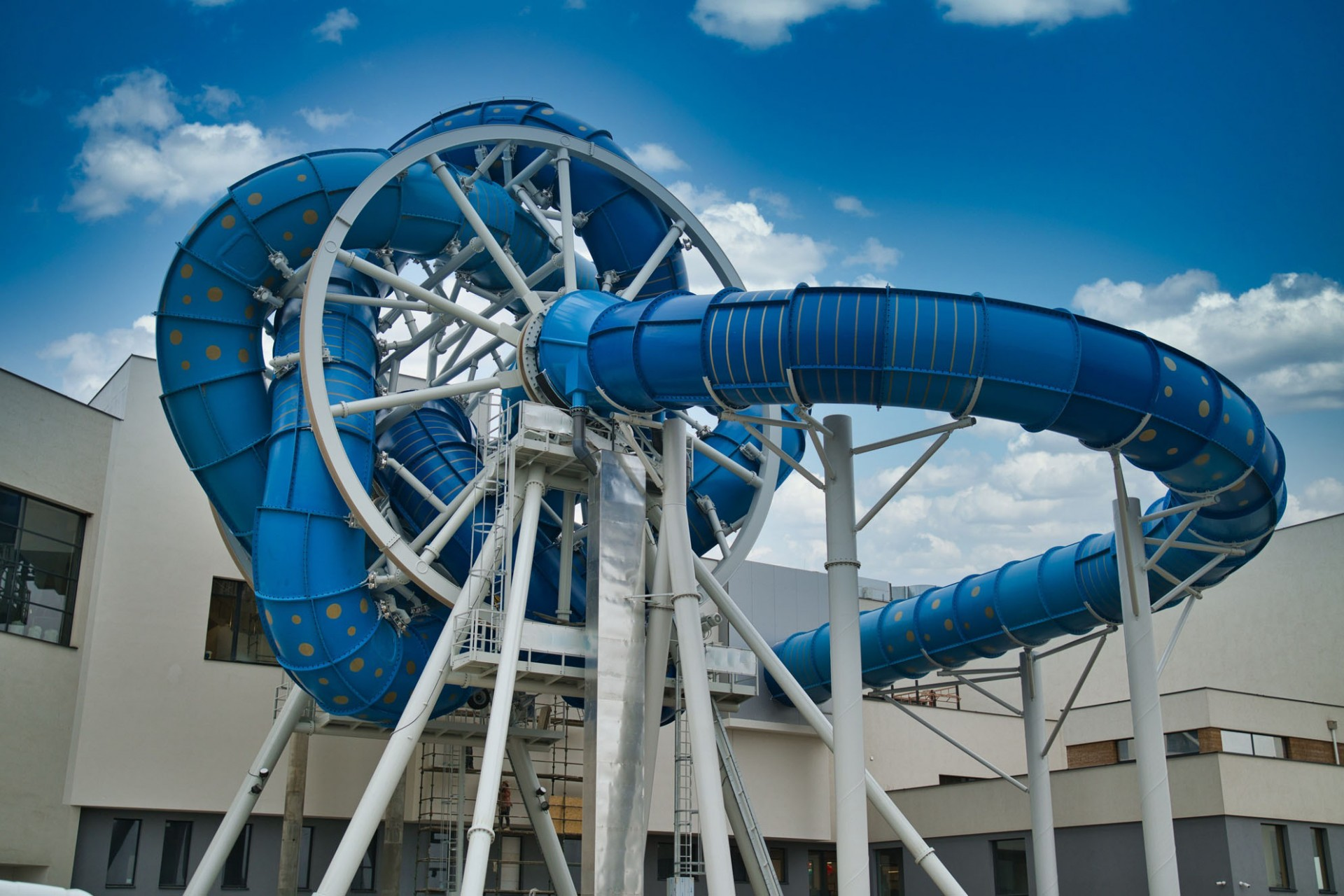 The only rotating slide in Europe